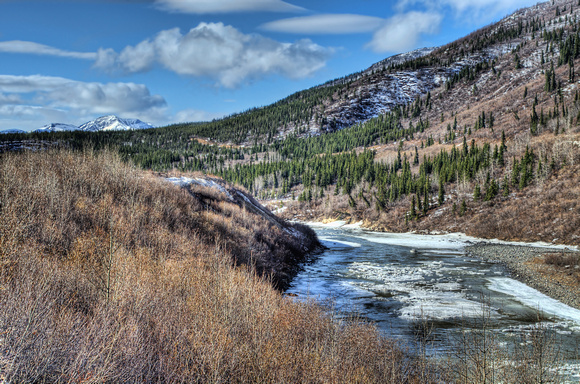 Nenana River Breakup