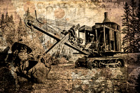 Steam Shovel and the Gold Miners