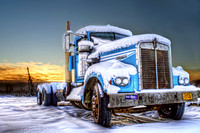 Kenworth waiting for summer