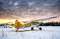 PA-22 in the Snow