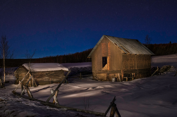 Tom payer photography and fine art images light painting barn barn and cabin at twilight mozeypictures Image collections