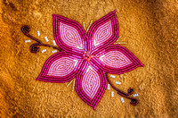 Bead Work Flower