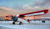 Aeronca in the Snow