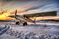 Super Cub Sunset