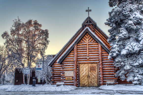 Log Church